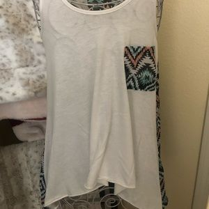 About a girl Los Angeles tank size medium